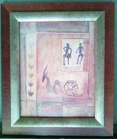 Reprodukcja - Motyw Afrykański / 40x30