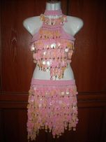 Платье, костюм, латина, пайетки