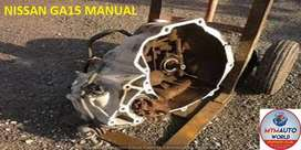 IMPORTED USED NISSAN GA15 MANUAL GEARBOX FOR SALE AT MYM AUTOWORLD