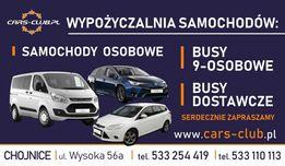 Cars-Club.pl Wypożyczalnia Samochodów, Wynajem Aut, Busy 9-osobowe,