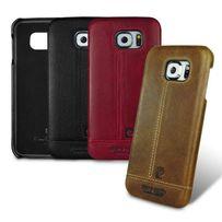 Премиум чехол (кожа) Pierre Cardin Samsung S6 S7 Edge S8 Plus Note 4