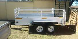 Brend new double excel 4m trailer