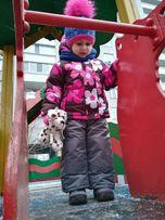 Зимняя курточка и комбинезон