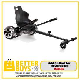 ADD ON CART for hoverboard, balance board, sedgeway style, GO KART, Ra
