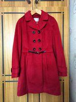 Женское пальто яркое (весна/осень)