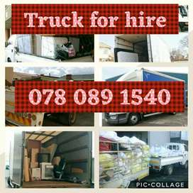 TRUCKS & BAKKIE FOR HIRE