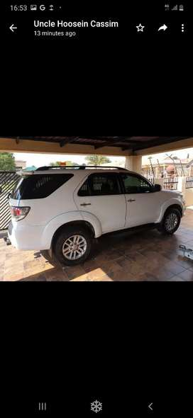 Fortuner 2011 3.0 d4d facelift