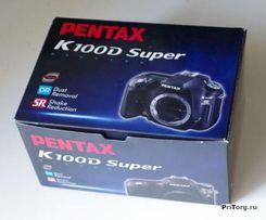 Фотоаппарат PENTAX K100D Super Body, новый, оригинал, раритет