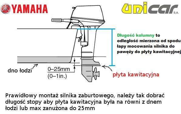 Silnik zaburtowy Yamaha F9.9JMHS Bydgoszcz Bydgoszcz - image 8