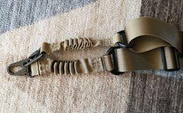 Sling brązowy pas nośny 2point zawieszenie taktyczne do broni brown
