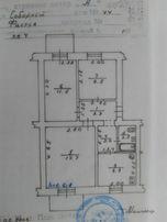 Продам 3-х комнатную квартиру городе Фастов в центре города на Соборно