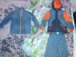 Продам детский зимний лыжный термо (-20) костюм на мальчика 5-6 лет