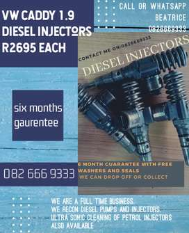Audi 1.9 diesel injectors for sale and vw caddy