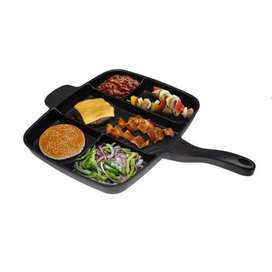 5 in 1 Non-Stick Magic Pan with Dividers