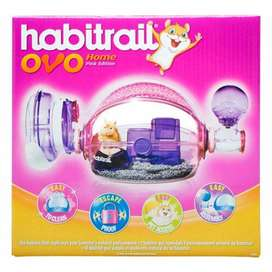 PINK HABITRAIL HAMSTER CAGE FOR SALE