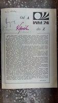 Autografy Kazimierz Deyna i Kazimierz Górski