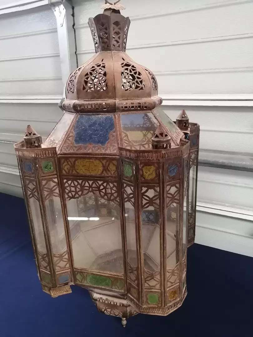 Old Moroccan chandelier 0