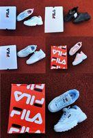 5 цветов топ качество женские и мужские Кроссовки Fila Disruptor 2 II