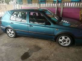 VR6 GOLF running condition with minor attention.