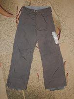 фирменные мембранные теплые лыжные штаны Burton р.152