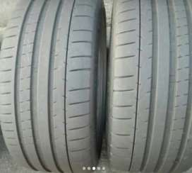 2×245/35/19 MICHELIN tyres for sale