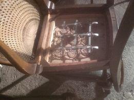 krzesła stare zabytkowe drewno