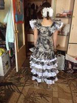 Платье для танцев Латина-Восток( Фламенко)идеальное состояние!
