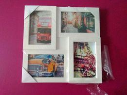 ramka na zdjęcia 10x15 4 zdjęć nowa