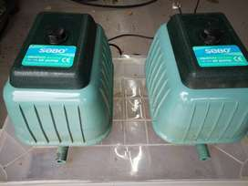 SOBO HIGH OUTPUT AQUARIUM AIR PUMPS