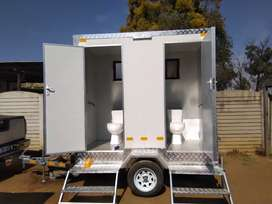Selling VIP mobile toilets