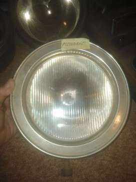 Front complete headlight, for old vehicle