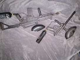 Paintball guns 2x