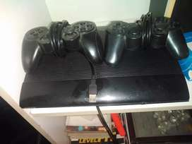 Sony PS3 with two controllers R1700
