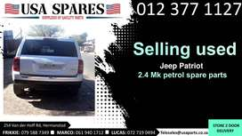 Jeep Patriot 2.4 4x4 MK 2007-17 used spare parts for sale
