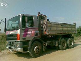 Żwir, piasek, czarnoziem, usługi transportowe 3-16 ton