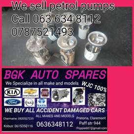 We sell petrol pumps 4 most cars give us a call