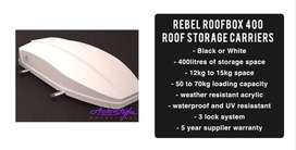 Rebel RoofBox 400 Roof Storage Carriers  - 400litres of storage space