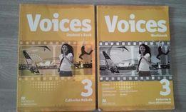 Voices 3 podręcznik i ćwiczenia j. angielski + CD