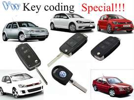 Vw Golf 4,5,6 Jetta and polo spare key coding on special
