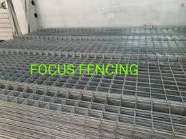 Hot Dip Galvanized Panel Fence