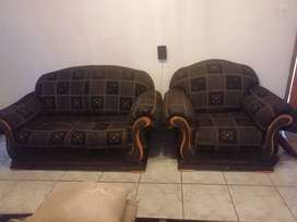 Sofas for sale, good condition, 2 single and 2 double sofas.