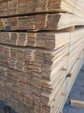 Untreated timber Battens and Wendy Planks