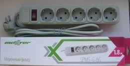Сетевой фильтр-удлинитель для электробытовой техники