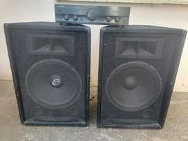 Speakers with Amp