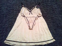 Koszulka nocna + majtki stringi NIOBE roz.40/42