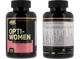 Мультивитамины Opti-Women, 120 капсул (Optimum Nutrition)