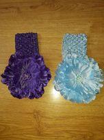 один лот - две красивые повязки для маленькой принцессы)