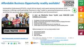 Affordable Business Opportunity readily available!