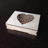 Подарочные коробки,блокнот, шкатулки, конверты из фанеры