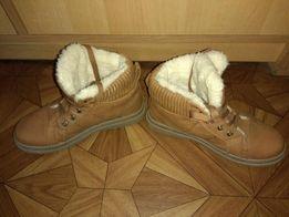 Женские ботинки, осень-зима